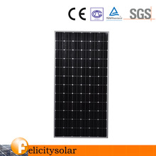 according to the power Size and Monocrystalline Silicon Material high efficiency 300w solar panel