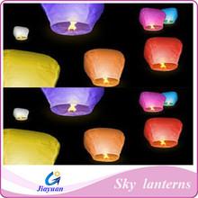 Sky lanterns, chinese long histroy flying lanterns ,professional manufacturer paper flying lanterns
