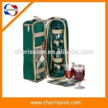 Fashion wine cooler bottle holder with adjustable shoulder strap