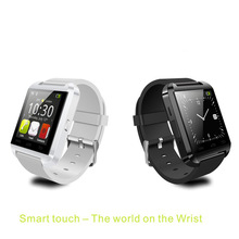 watch phone silicone material led touch screen android smart watch