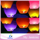 Safe and non flammable flying lantern, chinese traditional type paper lanterns for festival decoration