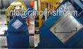 galvanizado de acero de color del marco de la puerta línea de producción