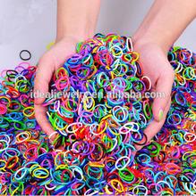 2014 Hot sale DIY colorful make rubber band bracelet patterns wholesale