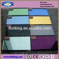 5mm, 6mm, 8mm clara, coloridos de vidro temperado para janelas& portas