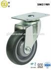100mm swivel silent rubber caster wheel for trolleys