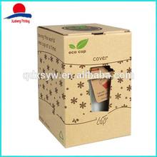 Custom Kraft Paper Box For Cup