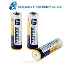 PVC Jacket R6C UM3 size AA dry battery manufacturer