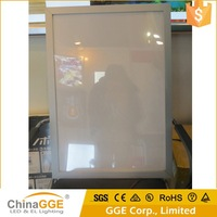 Trade Assurance Supplier LED Illuminated Aluminum Panel Light Box For Advertising Display