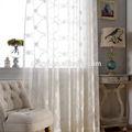 professionnel fabricant de rideaux de broderie broderie de dentelle de rideau de douche prêt fait