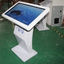 42 inch network floor standing touch screen kiosk design / advertising player/ digital signage with wifi 3G for public place