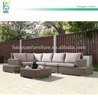 restaurant furniture durable L shaped sofa w/cushions module sofa set