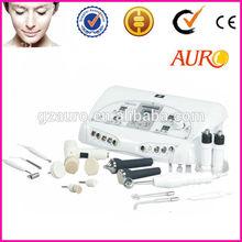 7 in 1 Ultrasonic machine /high frequency facial machine/skin cleanse brush & spot remover&sprayer Au-6806