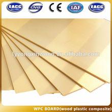 WPC plastic formwork board concrete forms, New material wpc foam board formwork