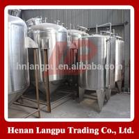 Food/medicine/wine/dairy/chemical storage tank