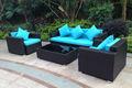 tendencia al aire libre jardín seccional sofá de lujo muebles