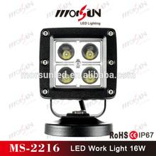"China factory! 3.3"" 16W Square mini LED work Light 16W led car driving light, 16W LED worklights"