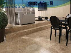 white embossed ceramic tile antislip tile