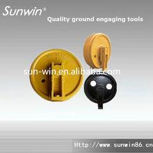 R215 Excavator guide wheel for hyundai parts