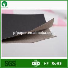 450g 0.54mm black paper board export to Turkey