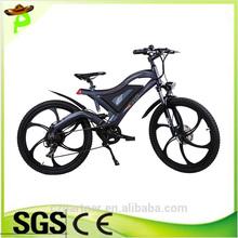36v 250w 350w 500w brushless hub motor li-ion battery mountain MTB type e bike
