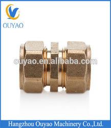2014 new type PEX/AL/PEX composite pipe brass union,male/female brass union