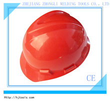 Ratchet V-type safety helmet with CE
