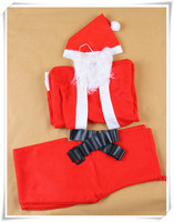 low price new design Christmas clothing/Santa suit/ Christmas man suit