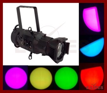 LED Profile spot light, 150W RGB Led theater light, Led leko light