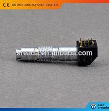 EPG.0B.303.HLN, 3 Pole Female Right Angle Lemos EPG.0B Connector
