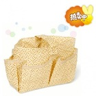 New arrival cute small flower cosmetic bag in bag (yellow)