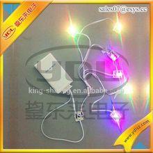 Rainbow color led string light for promotion decoration gifts led fairy light strings led string lights
