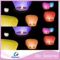 Decorative and colorful sky lanterns, hot air ballon with high grade