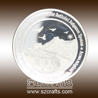 The Great Wall Of China silver coins , replica collectible coins