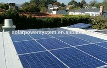 requirement of 2KVA, 3KVA and 5KVA solar power systems