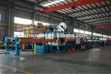 Multi-log heating furnace for aluminium ingot