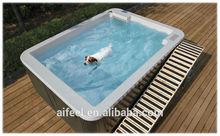 fiberglass dog pool hard plastic dog swimming pool