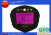 Programmable tachometer digital speedometer motorcycle meter cluster 7 color LCD backlight