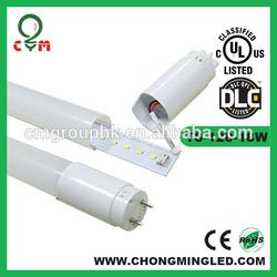 High lumen AC100-277V SMD2835 120LM/W UL cUL DLC CSA internal driver T8 led tube 5 years warranty