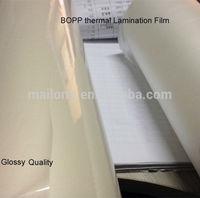 Thermal Pre-coating transparent BOPP Film