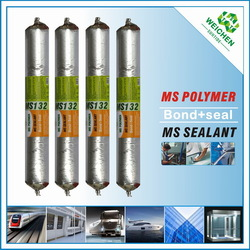 Waterproof joint Ms sealant epoxy glue for plastic