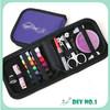 Sewing Kit Thread Spool Needle Measure Tape Scissor Button Fix Repair Travel Set