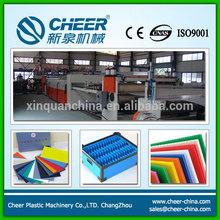 PP hollow sheet extrusion machine supplier