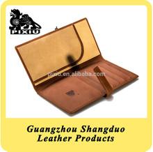 China Manufacture Price Leather Jamstudio Travel Passport Cover
