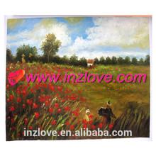 monet impressional landscape oil painting