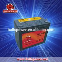 Chinese goods Korean 12v 45ah operated car battery