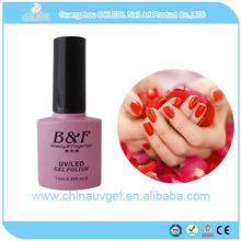 free sample B&F organic natural soak off uv gel nail polish high gloss storage box nail polish