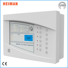 2015 hottest smart alarm panel used in fire alarm sysrem with TFT display