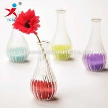 BOROSILICATE DECORATED GLASS VASE