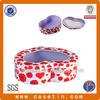 fantastic and heart shape decorative food tins