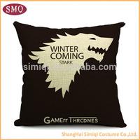 wholesale brief decorative fashion flocking cushion